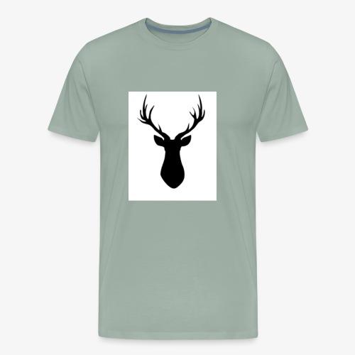 Rustic Antlers - Men's Premium T-Shirt
