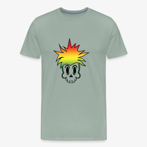 pineapple cartoon 4 - Men's Premium T-Shirt