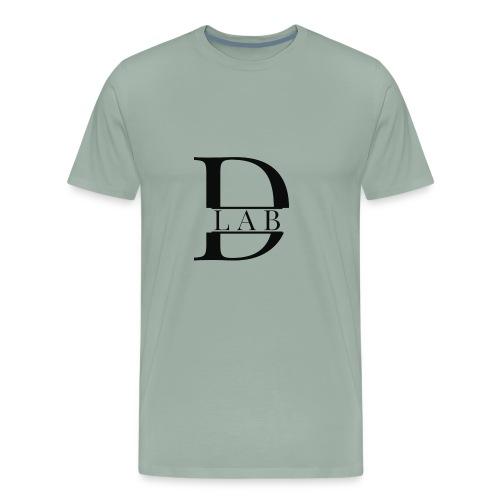 D Lab Logo - Men's Premium T-Shirt