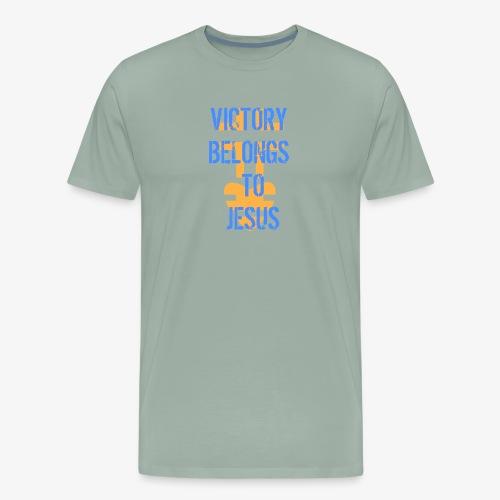 victorybelongstojesusbyHC - Men's Premium T-Shirt