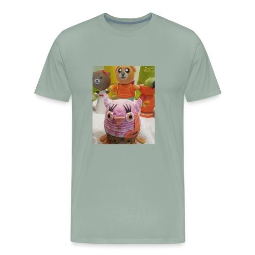 Owl - Men's Premium T-Shirt