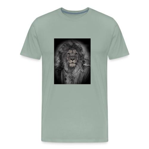 lion man - Men's Premium T-Shirt