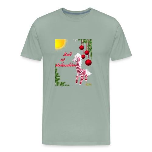 Bald ist Weihnachten - Men's Premium T-Shirt