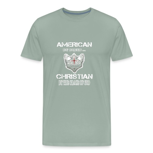 American Christian - Men's Premium T-Shirt