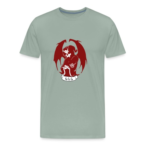 Unit 666 Front Print - Men's Premium T-Shirt