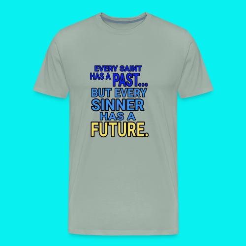 Dave The Cat Big Word Tee! ESP2 - Men's Premium T-Shirt