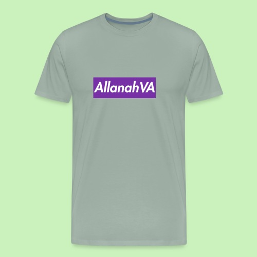 AllanahVA Supreme Purple - Men's Premium T-Shirt