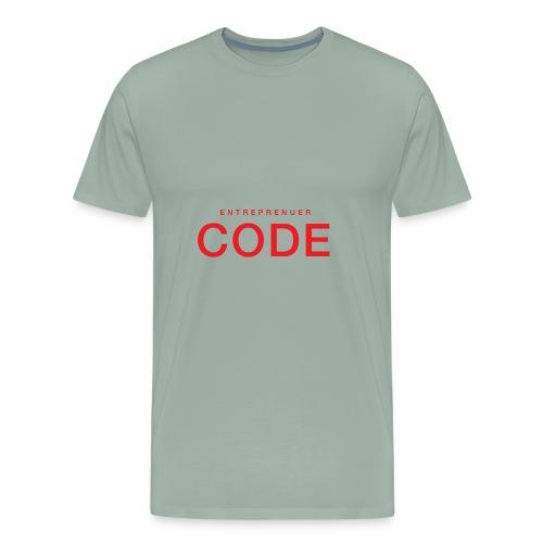 Red Shirt PNG - Men's Premium T-Shirt