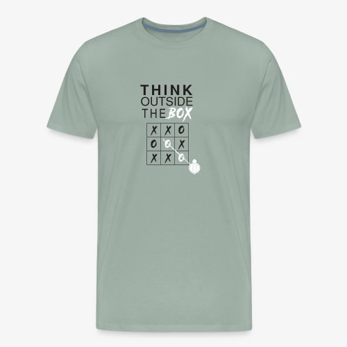 THINK OUTSIDE TH BOX - Men's Premium T-Shirt