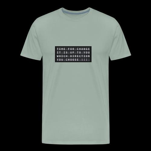change 2930404 960 720 - Men's Premium T-Shirt