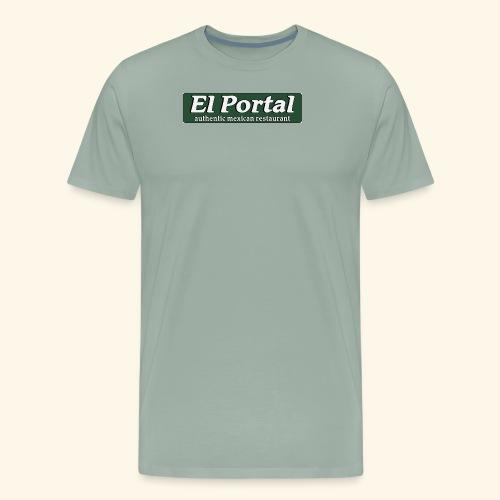 El Portal Modern Logo - Men's Premium T-Shirt