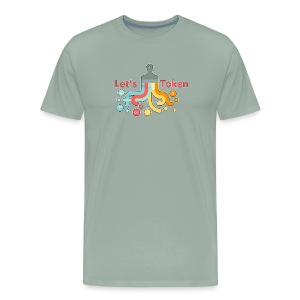 Let's Token by Glen Hendriks - Men's Premium T-Shirt
