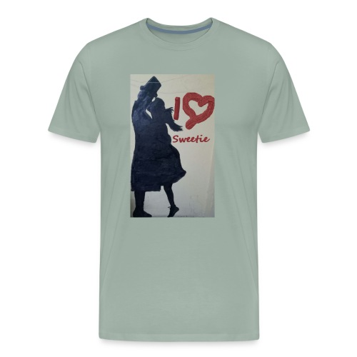 I Love sweetie - Men's Premium T-Shirt