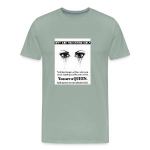 Fix your crown Queen - Men's Premium T-Shirt