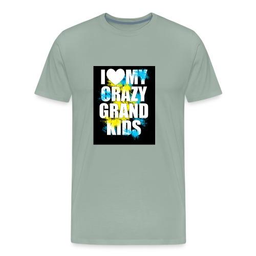I Love My Crazy Grandkids - Men's Premium T-Shirt