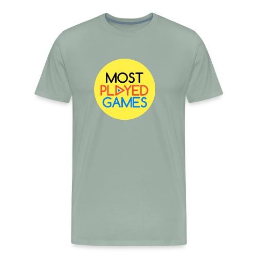 Most Played Games Logo - Men's Premium T-Shirt