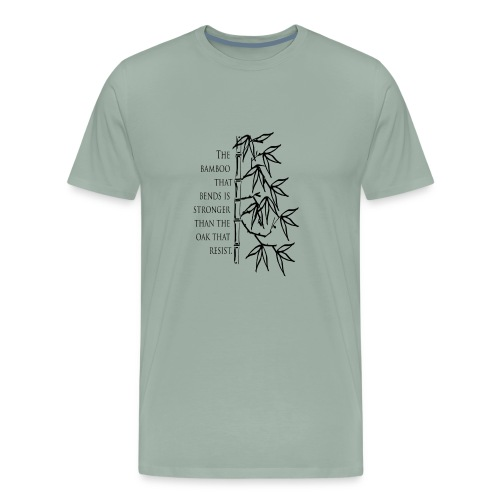 The Bamboo that bends - Men's Premium T-Shirt