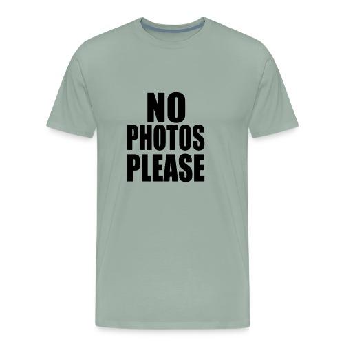 No Photos Please - Men's Premium T-Shirt