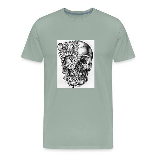 skull of madness - Men's Premium T-Shirt