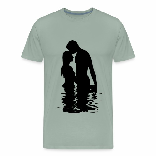 love in the air - Men's Premium T-Shirt