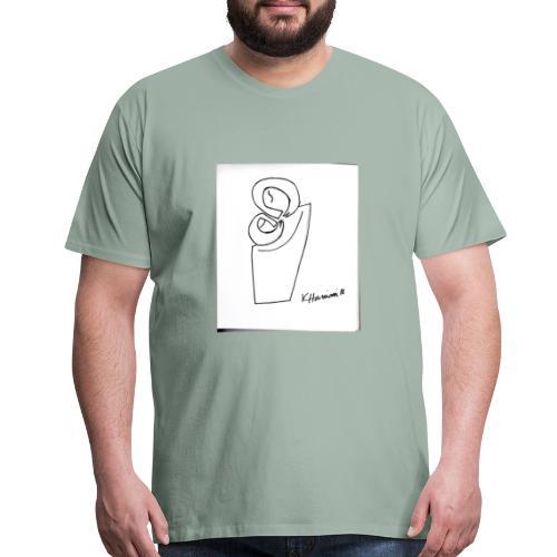 MC drawing - Men's Premium T-Shirt