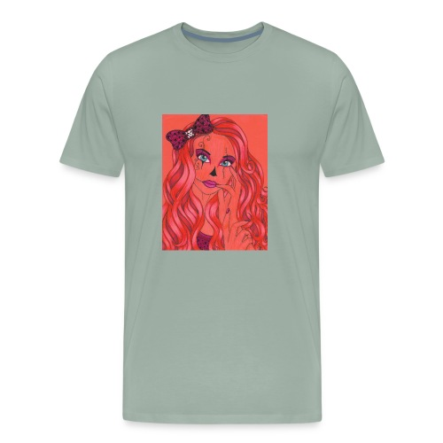 lady of the night - Men's Premium T-Shirt