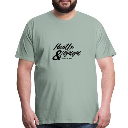 Hustle & Highlight - Men's Premium T-Shirt