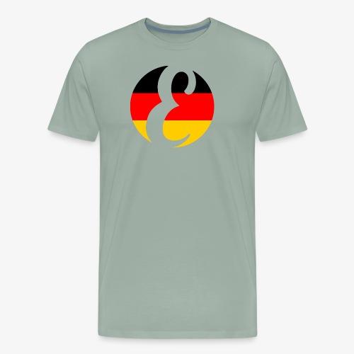 Everipedia Logo - Germany - Men's Premium T-Shirt