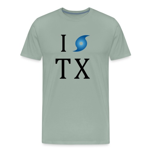I Hurricane Texas - Men's Premium T-Shirt