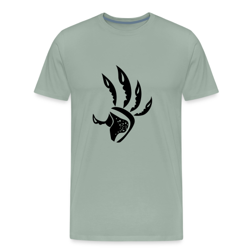 alien hand - Men's Premium T-Shirt