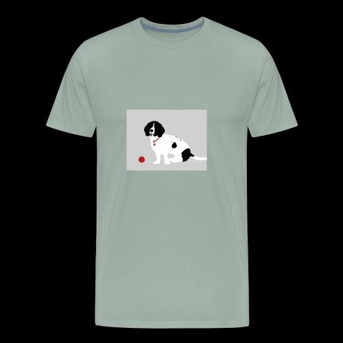 Pet Silhouette - Men's Premium T-Shirt