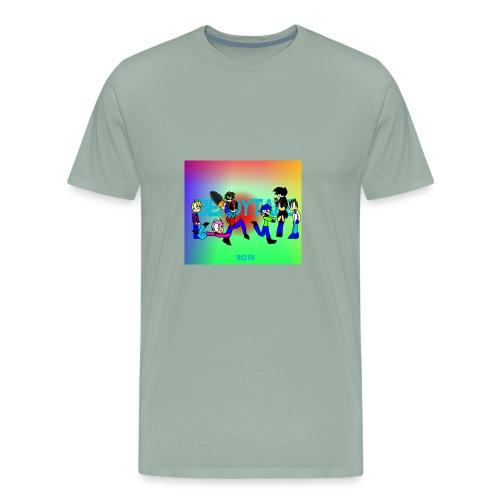 Bendytale phone case - Men's Premium T-Shirt