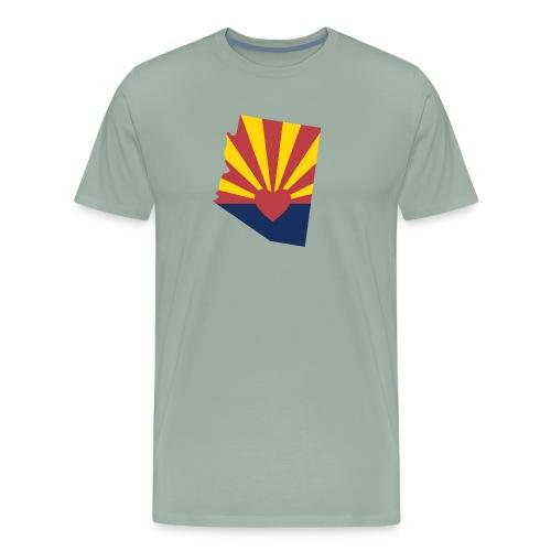 arizona teacher protest red for ed - Men's Premium T-Shirt