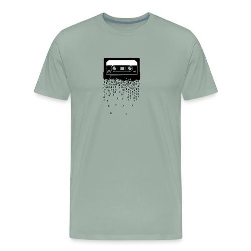 Cassette tape digitalization retru vintage tshirt - Men's Premium T-Shirt