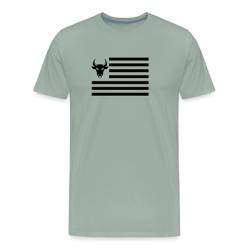 PivotBoss Flag Black - Men's Premium T-Shirt
