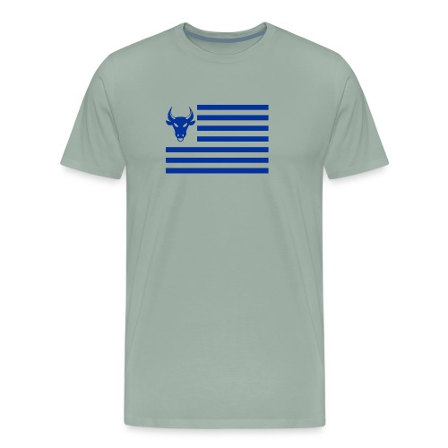 PivotBoss Flag Cobalt - Men's Premium T-Shirt