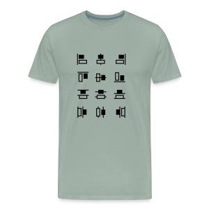 Align and Distribute - Men's Premium T-Shirt