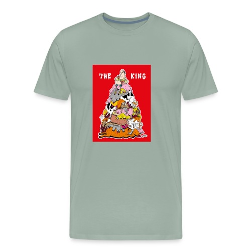 The king red - Men's Premium T-Shirt