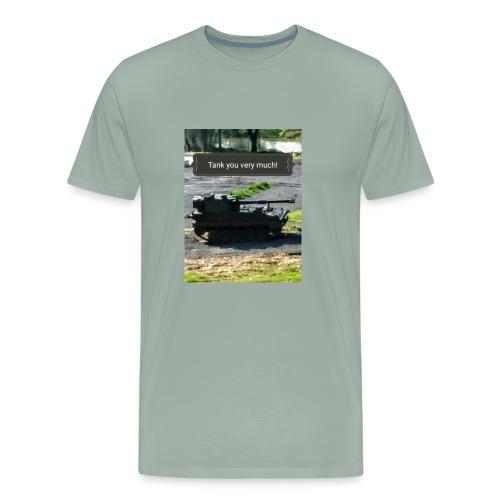 Tank you shirt. - Men's Premium T-Shirt