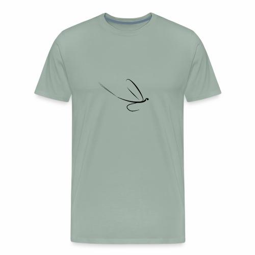 Fishing Shirt Mayfly Basic - Men's Premium T-Shirt