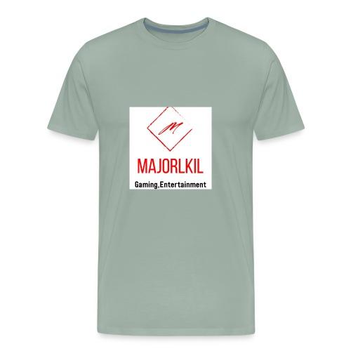 MajorLkil Channel Logo - Men's Premium T-Shirt