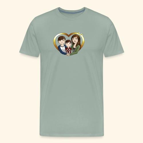 OUR3BS Heart - Men's Premium T-Shirt