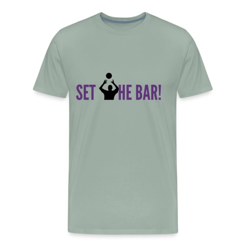 RIX set the bar - Men's Premium T-Shirt