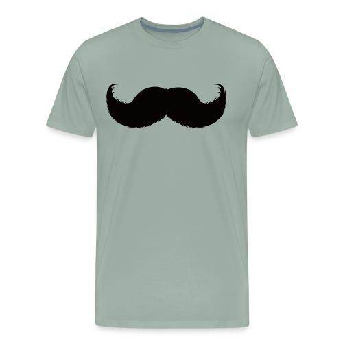 Mustache Tee - Men's Premium T-Shirt