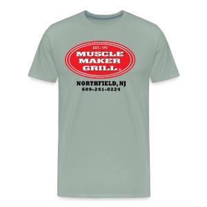 Muscle Maker Grill - Northfield NJ - 01 - Men's Premium T-Shirt