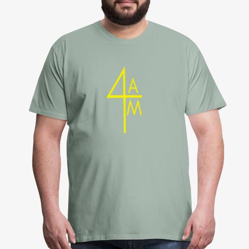 Yellow 4AM Sec. Logo - Men's Premium T-Shirt
