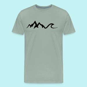 Mount Wave - Men's Premium T-Shirt