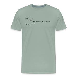 HTML Code Shirt - Men's Premium T-Shirt