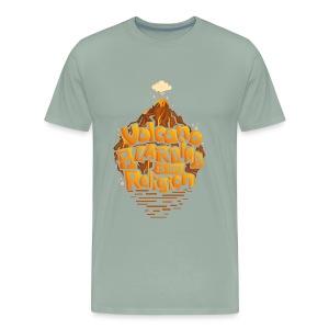 Volcano Boarding - Men's Premium T-Shirt