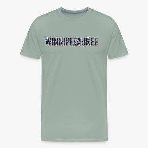 Lake Winnipesaukee Vintage T-Shirt - Men's Premium T-Shirt